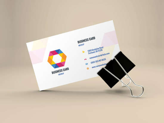 free_psd_business_card_in_binder_clip