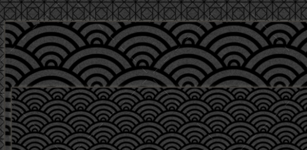 Black Patterns and Backgrounds
