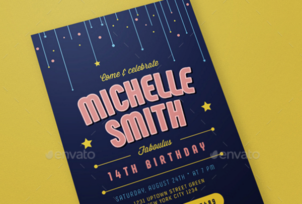 Birthday Invitation /Card