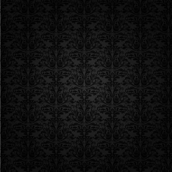 black_damask_background