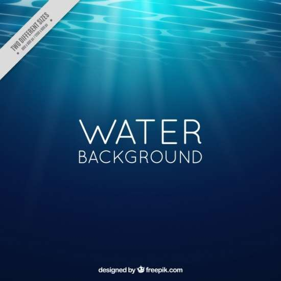 water_background_with_sun_rays