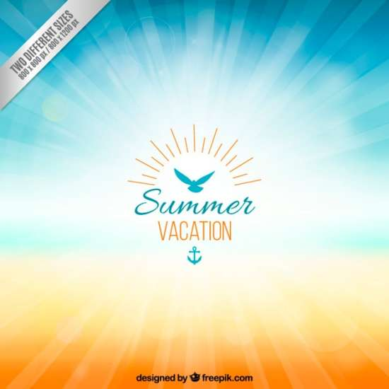 background_for_summer_vacation