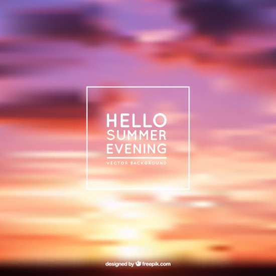 summer_evening_background