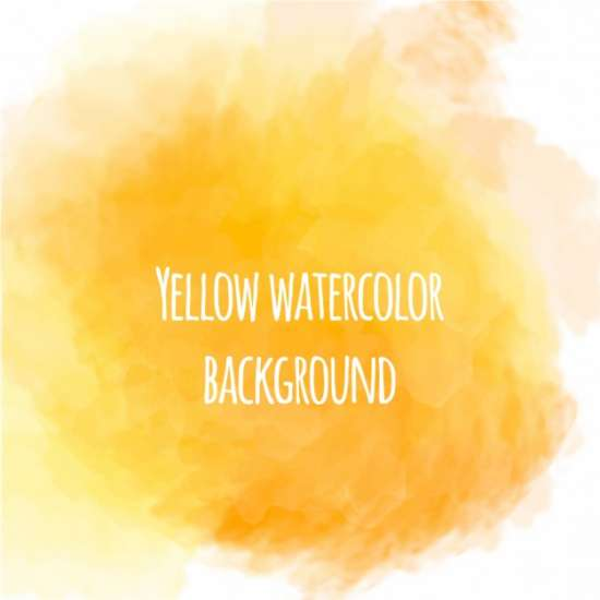 nice_yellow_watercolor_background