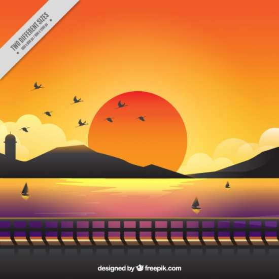 cute_background_of_a_sunset_with_warm_colors