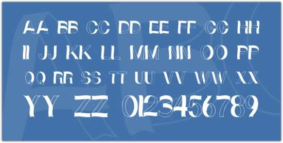 curly_ribbons_font