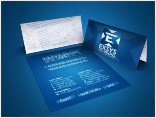 exsys_solutions_business_card