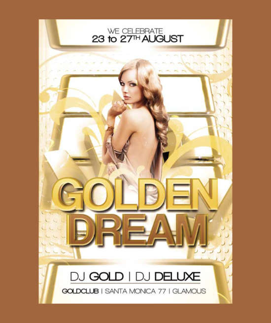 free_golden_club_flyer_psd_template