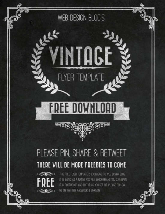 free_retro_chalkboard_flyer_template