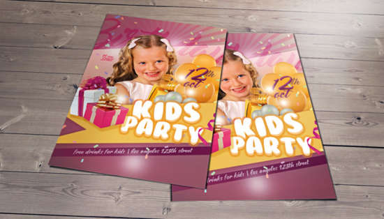 kids_birthday_party_psd_flyer