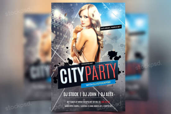 retro_city_club_party_psd_flyer