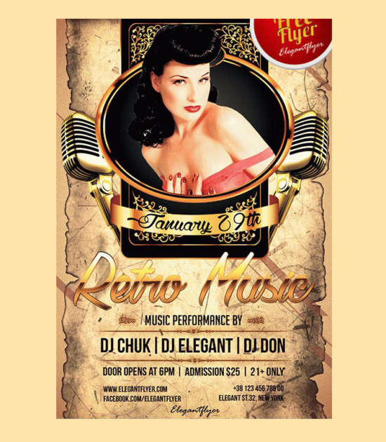 retro_music_free_psd_flyer_template