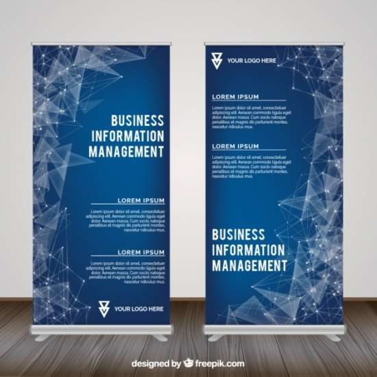 polygonal roll up for business