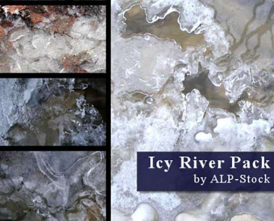 free_icy_river_pack_textures