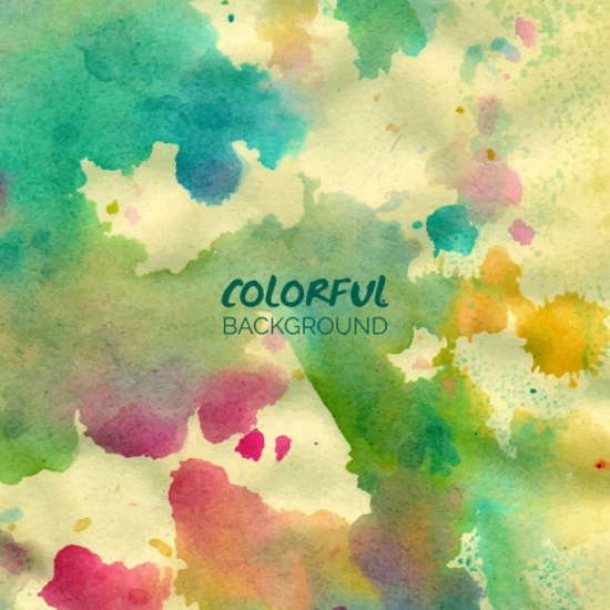 free_vector_colorful_watercolor_background