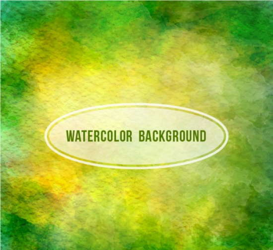 green_watercolor_background