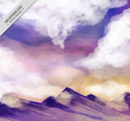 watercolor_mountain_landscape_background