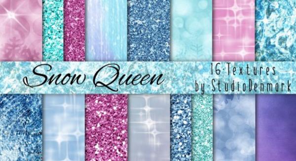 Ice, Glitter, & Bokeh Textures