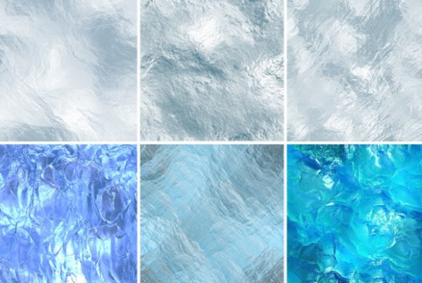 High res seamless ice textures