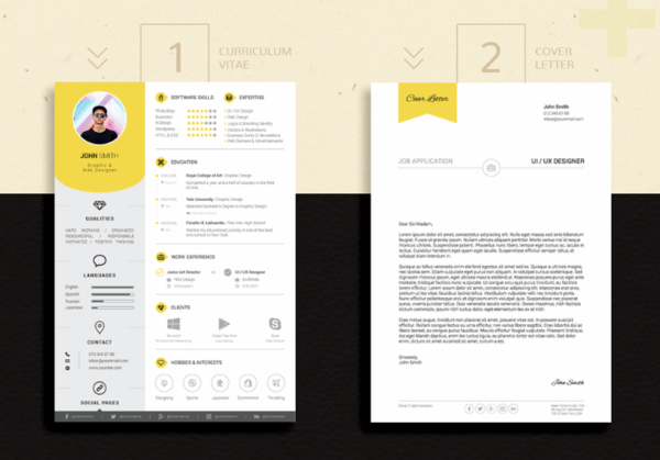 15 nice cover letter templates  word  u0026 psd