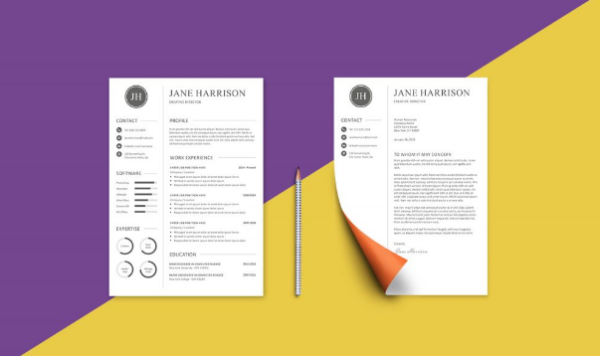 Free Resume + Cover Letter by Graphicadi