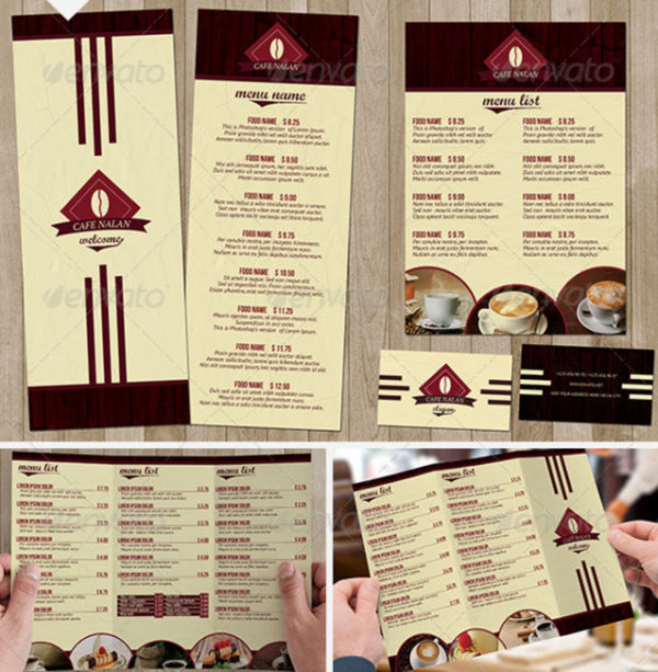 Cafe Menu Pack