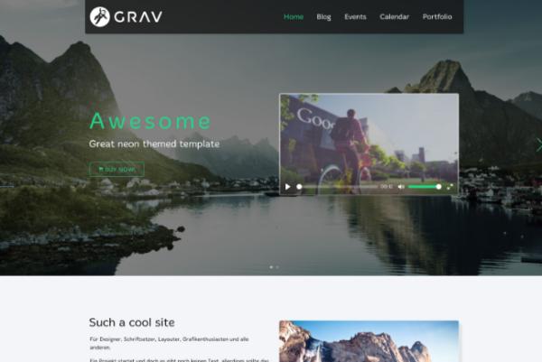 Flaten Theme for Grav