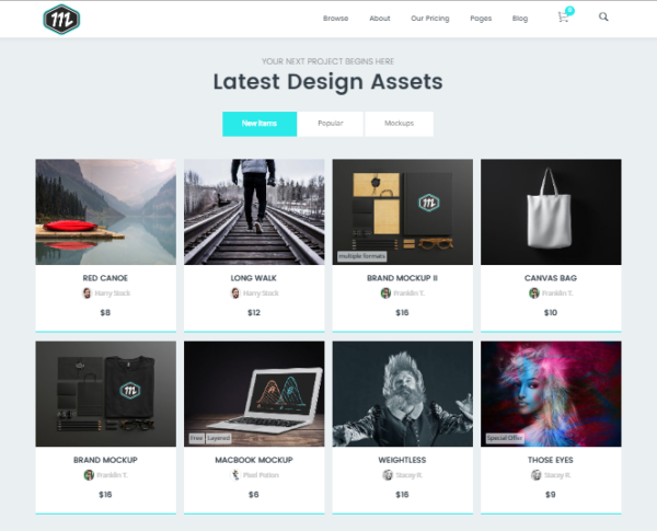 Market Fiverr Like WordPress Theme