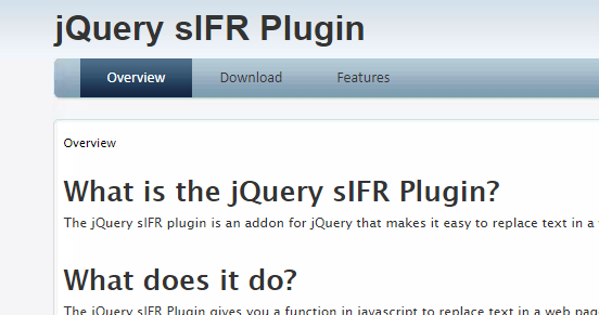 jquery_sifr