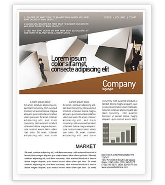 office_labyrinth_newsletter_template