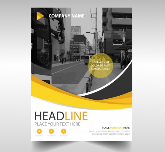 business_brochure_with_yellow_shapes