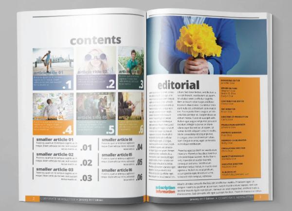 corporate_print_newsletter