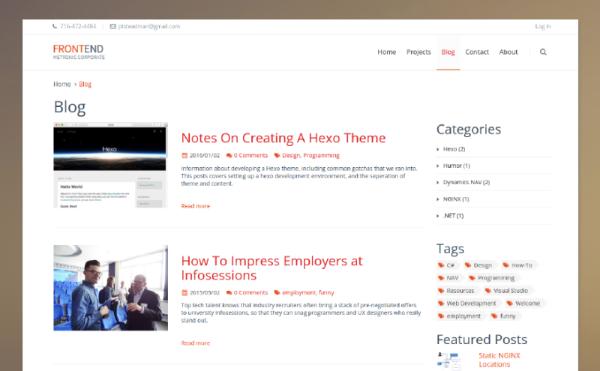 hexo_corporate_theme