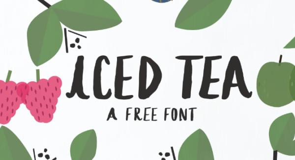 iced_tea_free_font