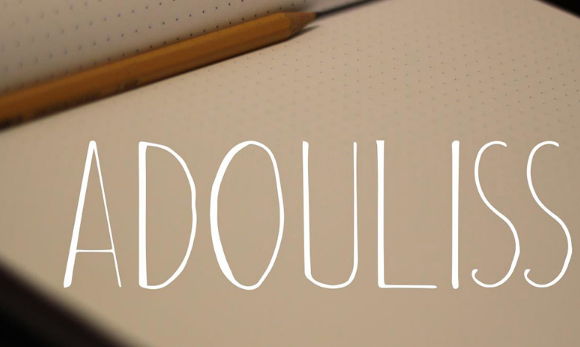 adouliss_free_handmade_font