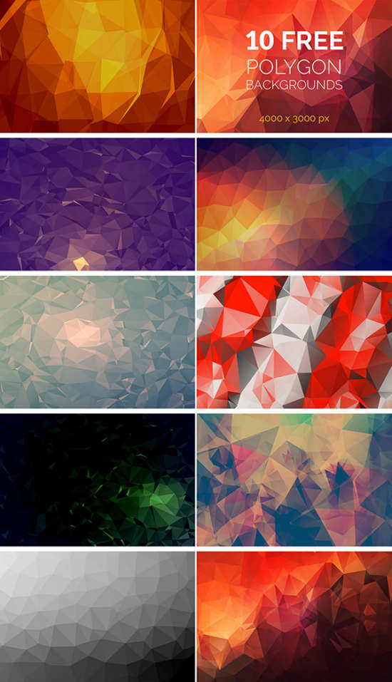 10_free_polygon_backgrounds