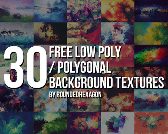 30_free_polygonal_low_poly_background_textures