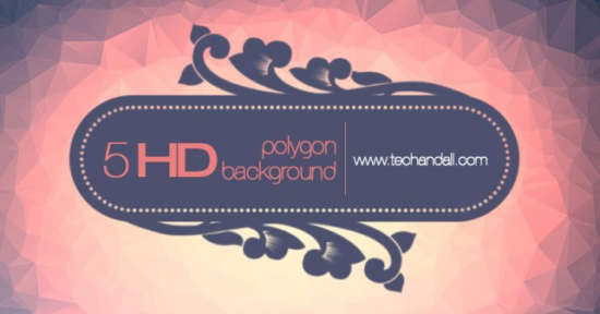5_hd_polygon_background_package
