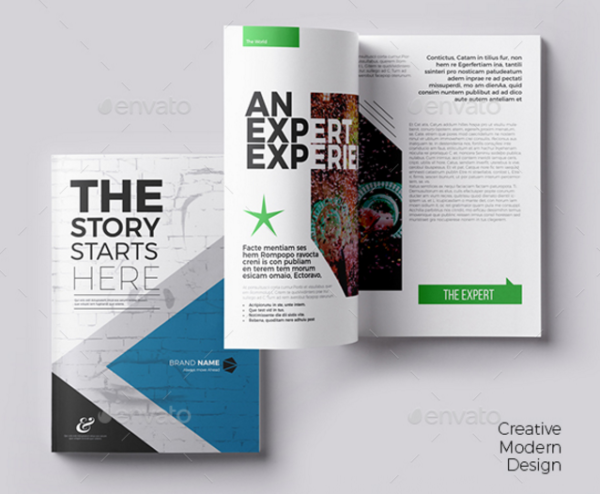 15 printable booklet templates psd indesign xdesigns