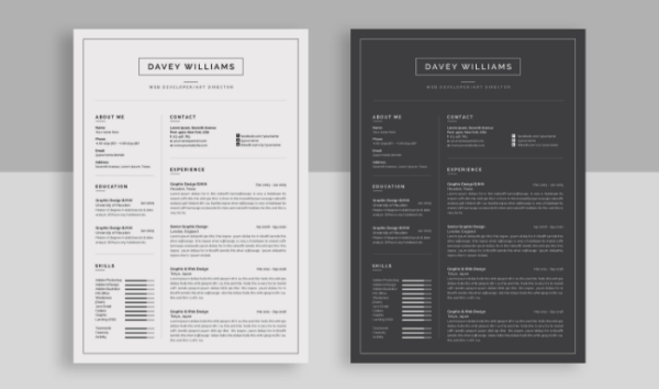 attractive_resume_cv_template