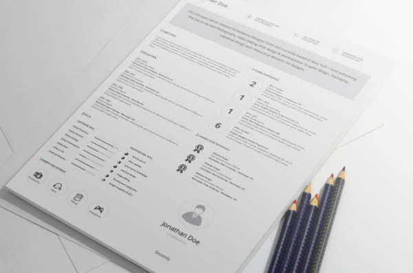 free_professional_resume_design