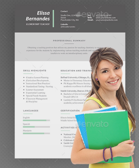 clean_modern_teacher_resume_template