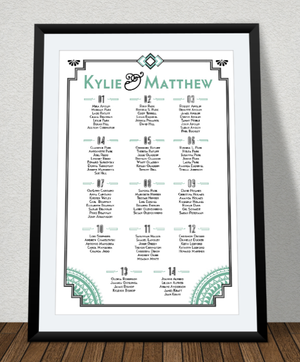 art_deco_wedding_seating_chart