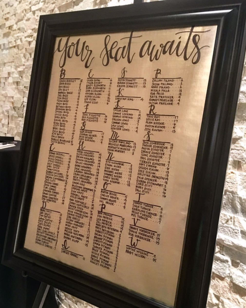hand_lettered_wedding_reception_seating_chart