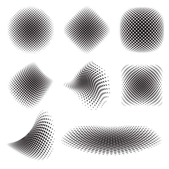 abstract_black_halftone_collection