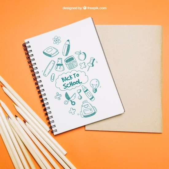 back_to_school_template_with_notebook
