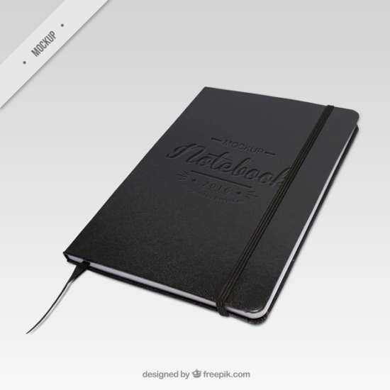 elegant_dark_notebook_mockup