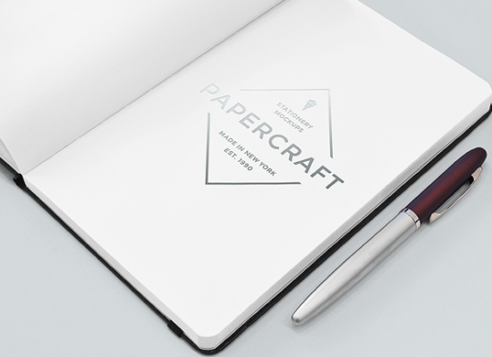 notebook_with_logo_mockup