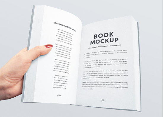notebook_mockup_free_vector