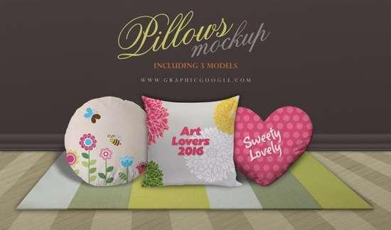 three_models_pillows_mockup